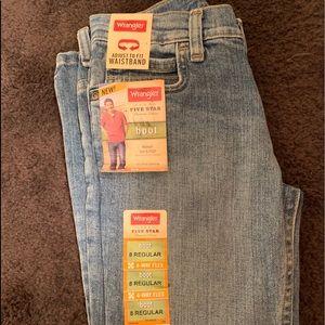 Boys wrangler jeans NWT 8R